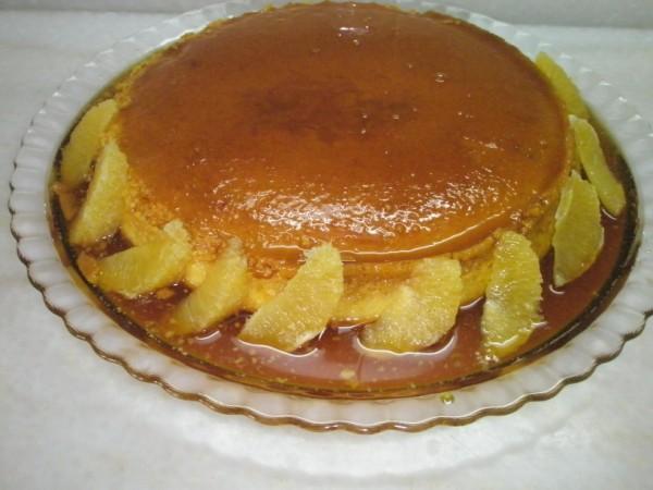 Portakallı krem karamel tarifi(resimli anlatım)