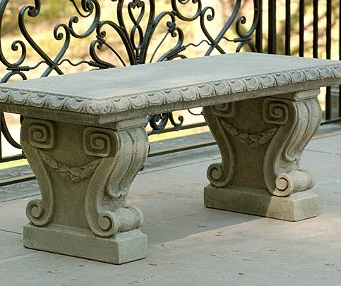 Name:  cast stone bench.jpg