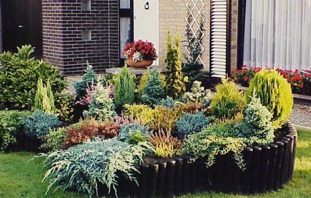 Rnek al nabilecek bah e d zenlemeleri page 14 for Coniferas de jardin