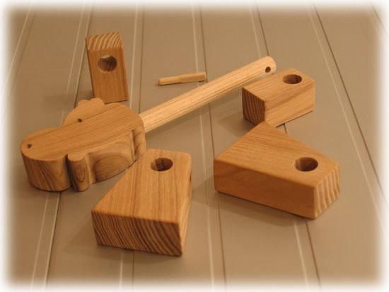 Как сделать своими руками игрушки из дерева